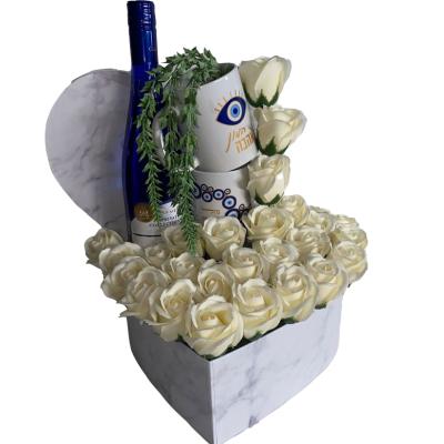 מארז פרחי סבון 8