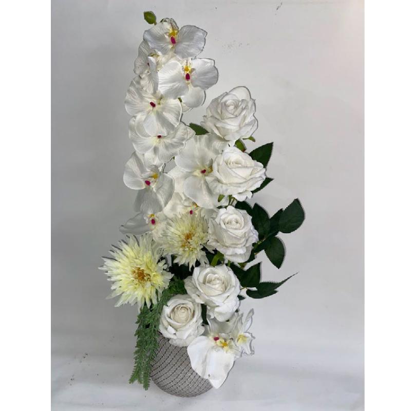 סידור פרחי משי 2