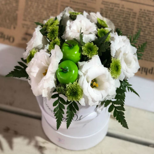 סידור פרחים בקופסא 4